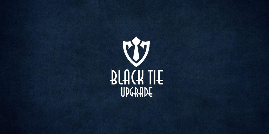 black tie upgrade