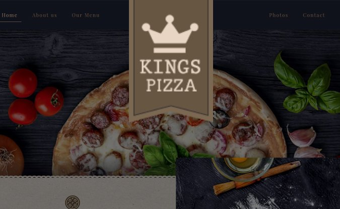 web design tampa kings pizza
