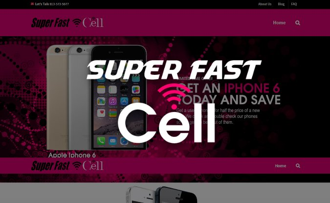 web design tampa Super Fast Cell
