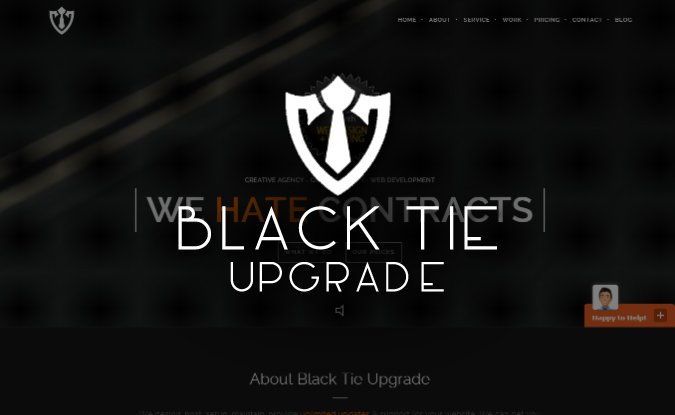 web design tampa black tie upgrade